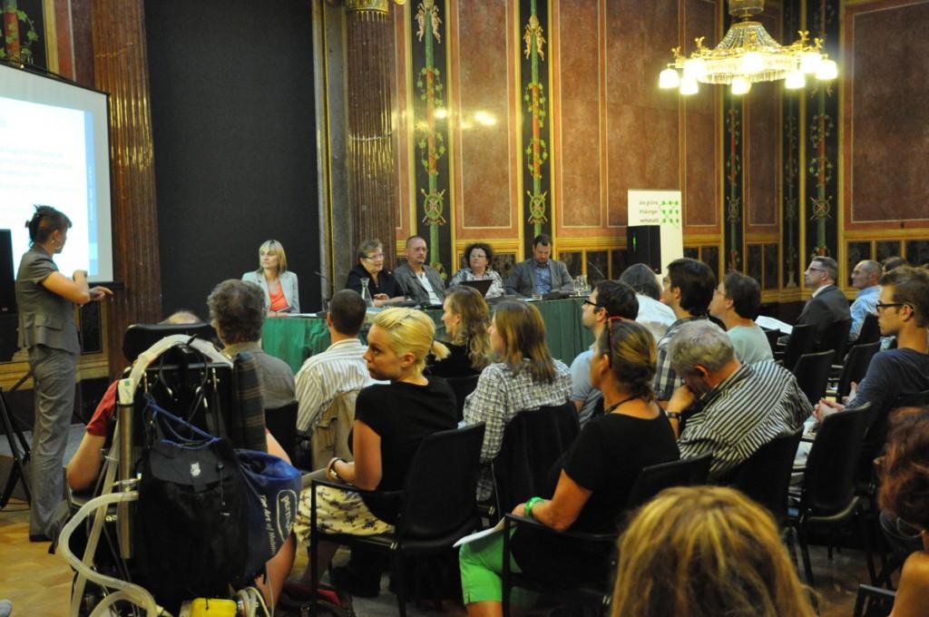 Inklusionsveranstaltung der Grünen im Parlament 20120621