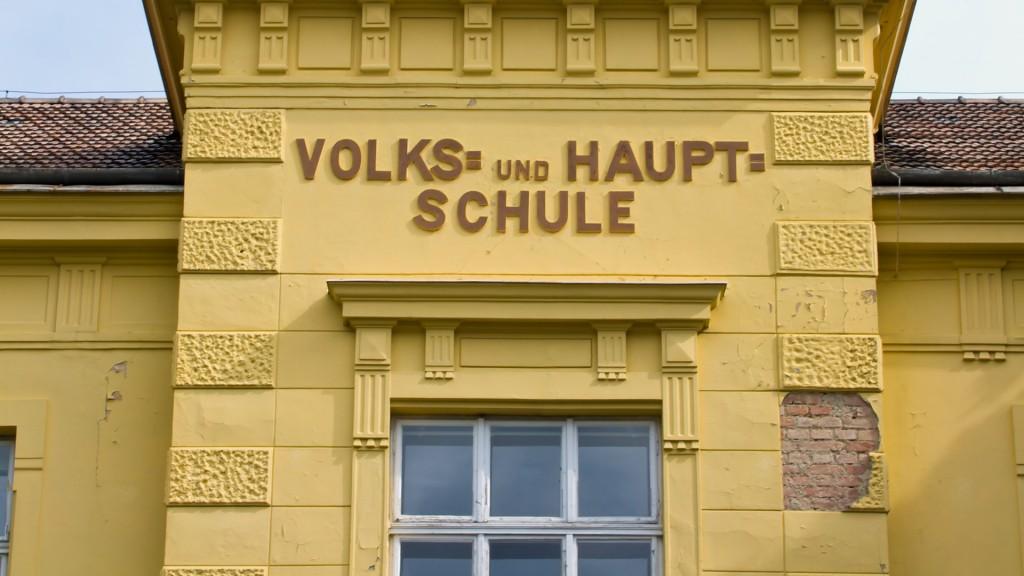 Eine gemischte Volksschule und Hauptschule in Österreich