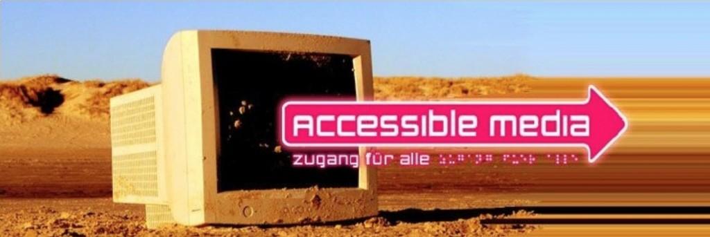 Logo: accessible media