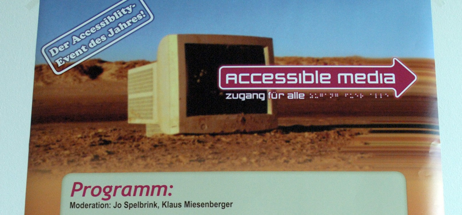 Veranstaltung accessible media 061012