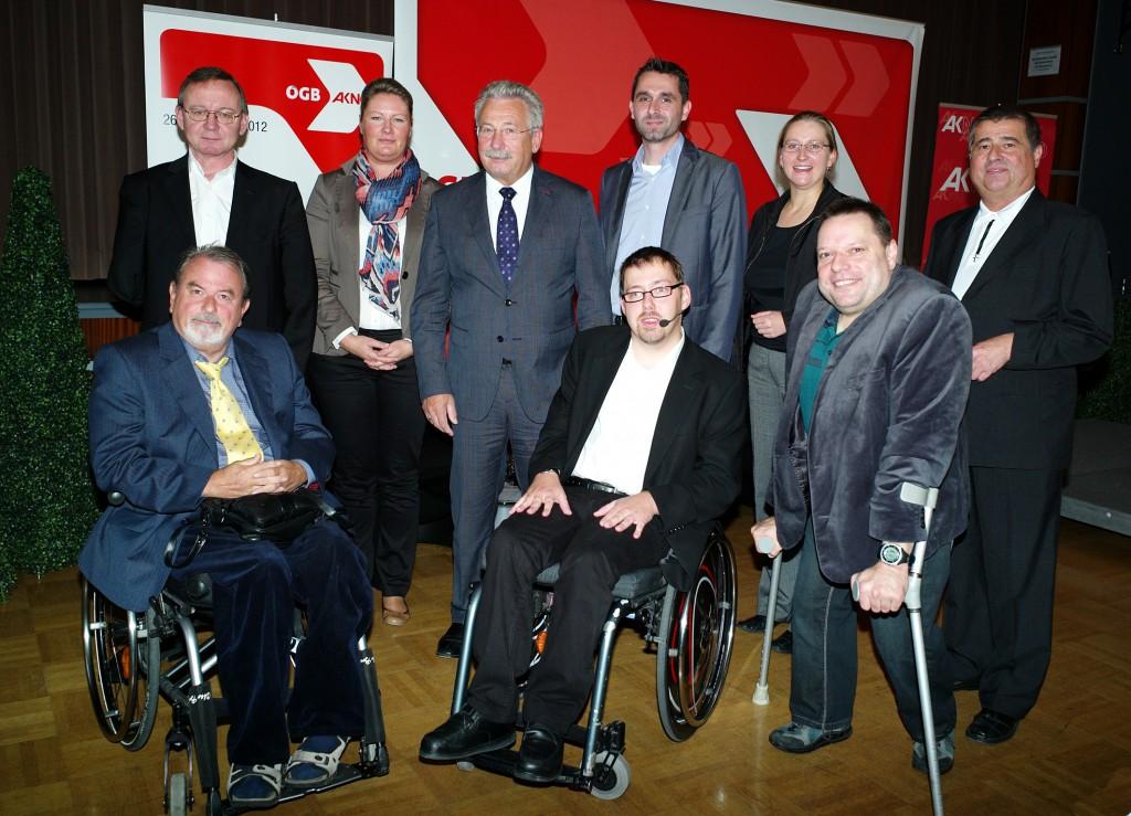 Gruppenbild AK Veranstaltung zum Einstellungsgesetz