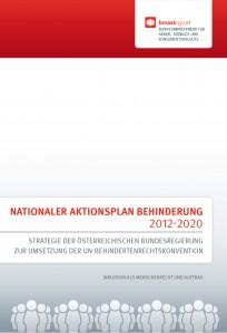 Deckblatt Nationaler Aktionsplan 2012-2020