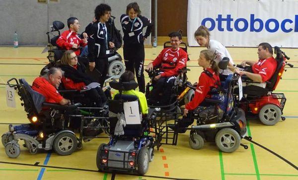 Austria A-Team gewann das 1. Wr. Turnier im E-Rolli Fussball