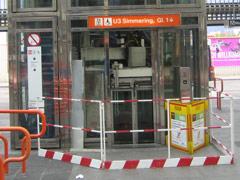 U-Bahn Aufzug defekt