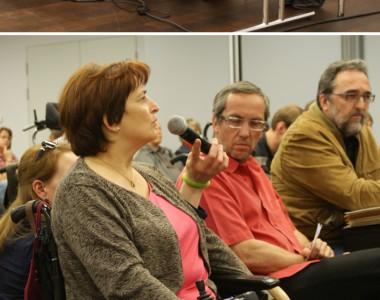 Impressionen von Podiumsdiskussion am 30. Mai 2012 in Linz
