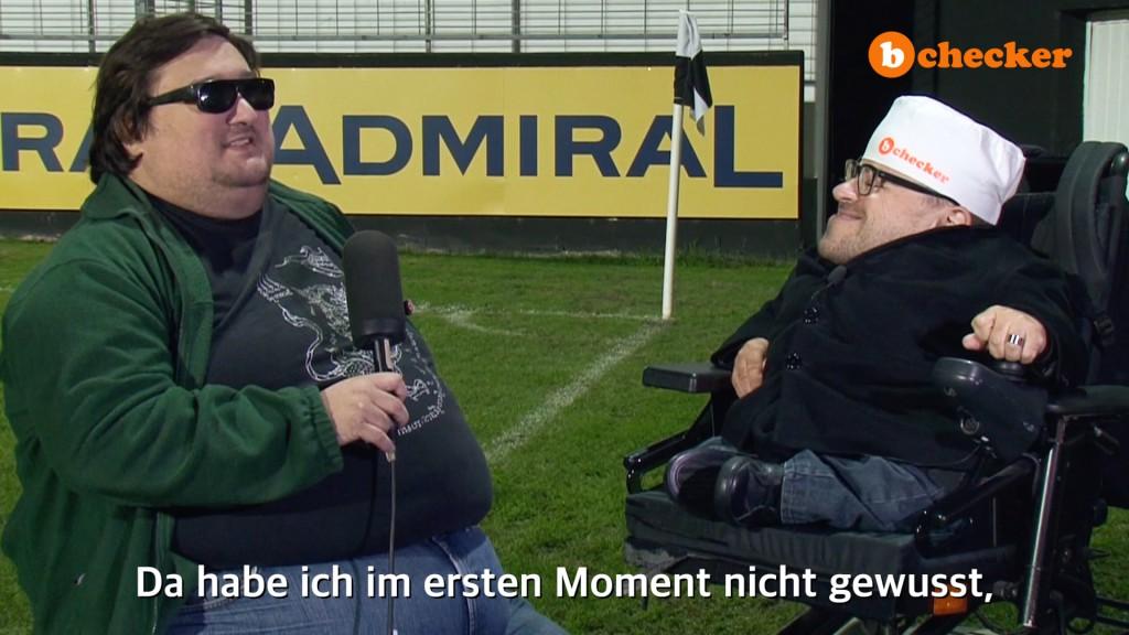 Roland Spöttling wird von Martin Habacher interviewt