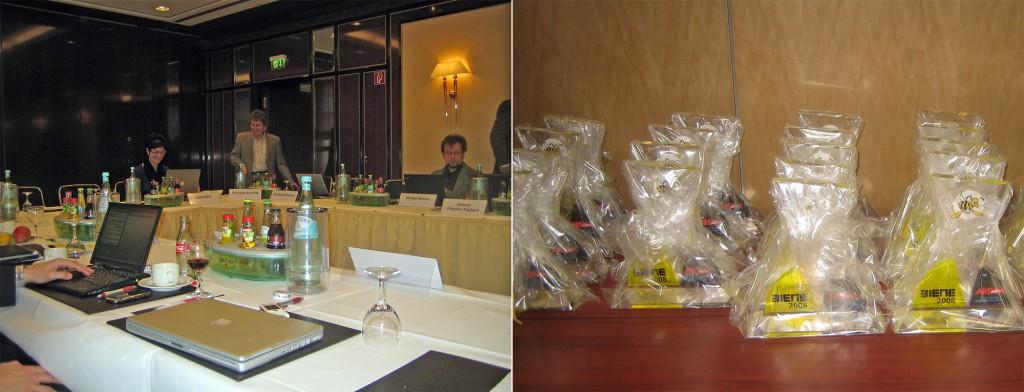 BIENE-Jury 2009 und die vorbereiteten BIENEN