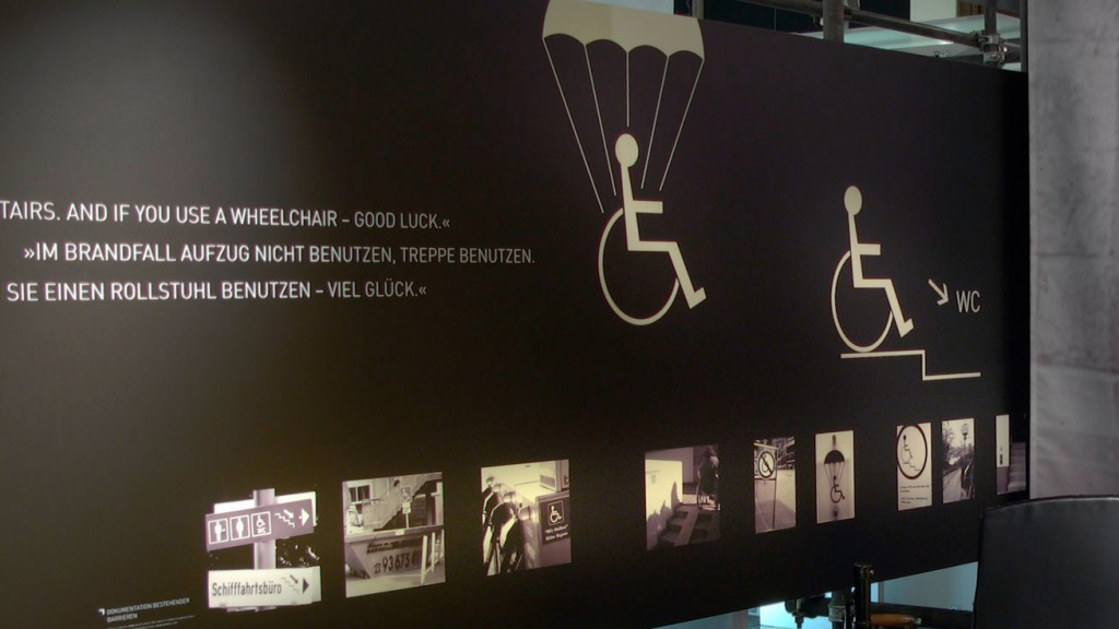 Ausstellung von BIZEPS-INFO Bildern