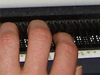Braillezeilen beim Computer
