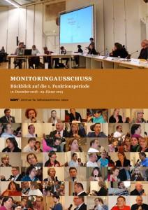 Broschürendeckblatt: Monitoringausschuss