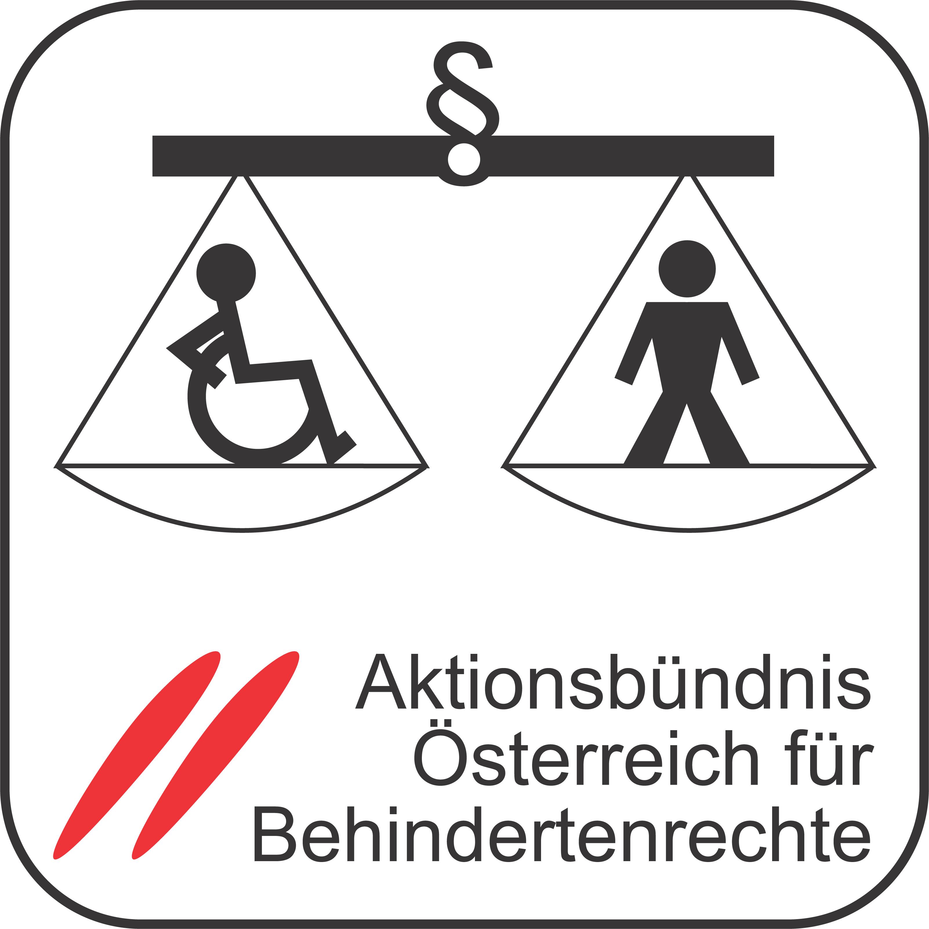 Logo Österreich für Behindertenrechte