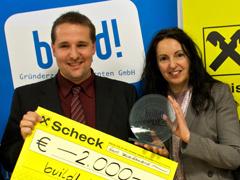 Mark Wassermann gewinnt Kärntner Ideenwettbewerb build! 2010