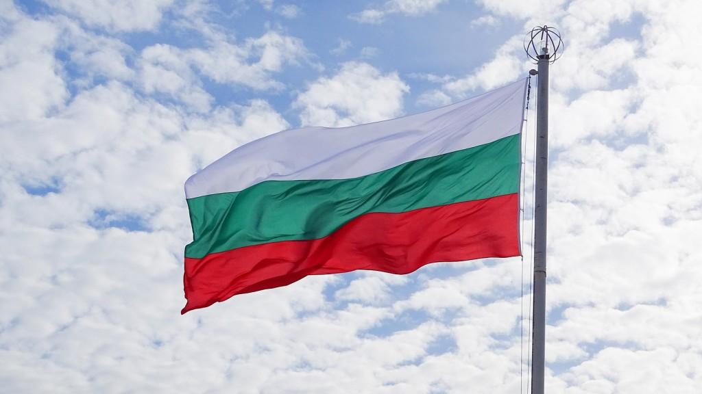 Flagge Bulgarien