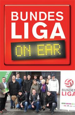 Logo von Bundesliga ON EAR und der Moderatorenschulung