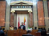 Sitzungssaal des Bundesrates
