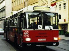 Alter Bus der Wiener Linien