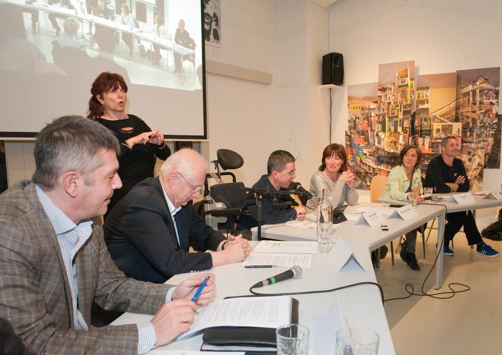 Podiumsdiskussion bei Caritas Wien zur Landtagswahl 2015