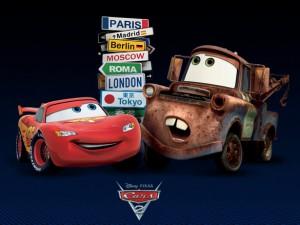 Filmplakat von Cars 2