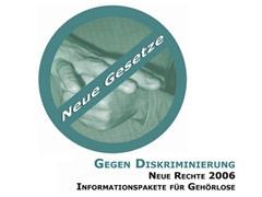 Info-CD gegen Diskriminierung