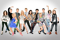 Gruppenbild Dancing Stars
