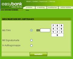 Symbolbild Onlinebanking easybank