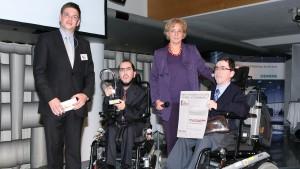 Heidrun Silhavy überreicht BIZEPS den ebiz egovernment award