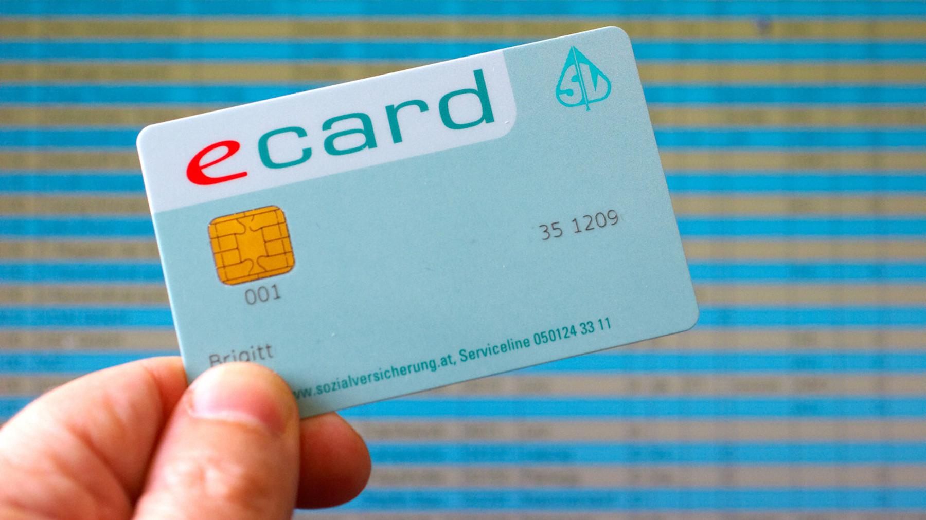 e-card der Sozialversicherung