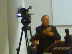 Live-Übertragung der  EFA-Tagung vom 6. Mai 2008