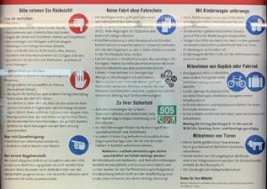 Neuen Fahrgastregeln der Wiener Linien