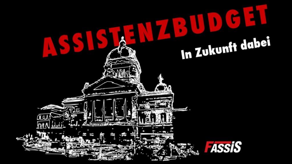 Kampagne: Assistenzbudget - in Zukunft dabei