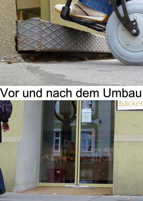 Bäckerei Felzl nach dem Umbau