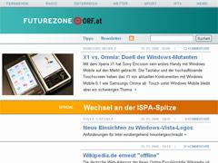 Futurezone Relaunch im Jahr 2008