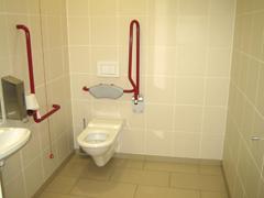 barrierefreie WC-Anlage