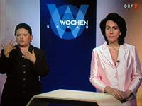 Gebärdensprachdolmetsch im ORF