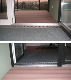 Balkon nach GESIBA-Umbau
