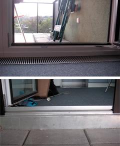Balkon mit sehr hohrer Stufe (GESIBA) Urzustand