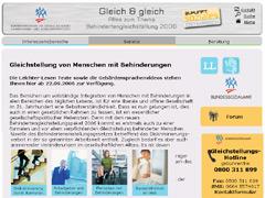 Homepage: Gleich und gleich