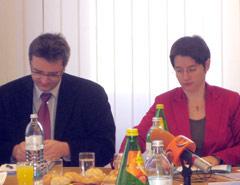 Peter Hacker und Sonja Wehsely 071128