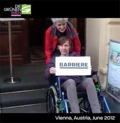 Test: Wie barrierefrei ist Wien - mit Birgit Hebein