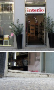 Stufe beim Interio Mariahilferstraße 19-21