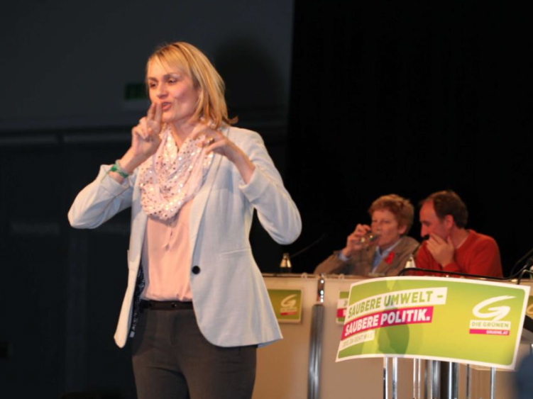 Helene Jarmer beim Bundeskongress 20121201
