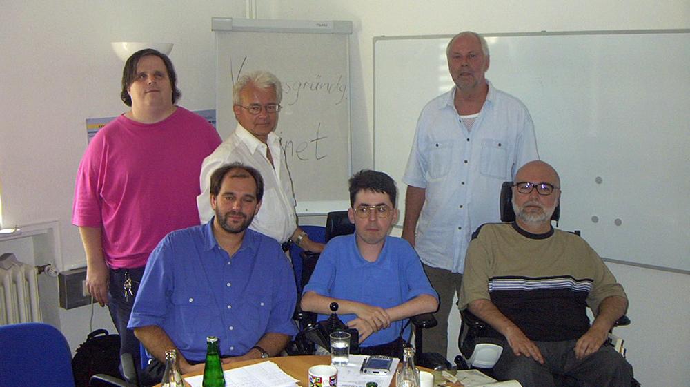 Vereinsgründung kobinet am 19. August 2002 in Kassel