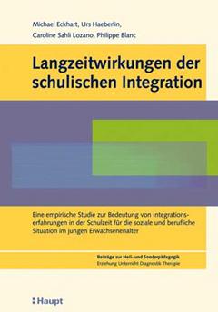 Studie: Langzeitwirkungen der schulischen Integration