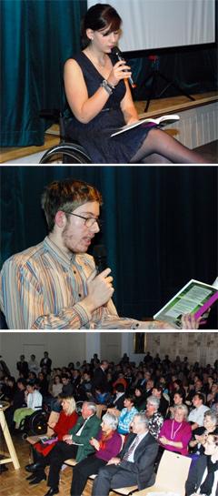 Präsentation des Buches: Entfesselt im Rollstuhl