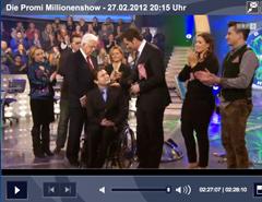 Promi Millionenshow im ORF