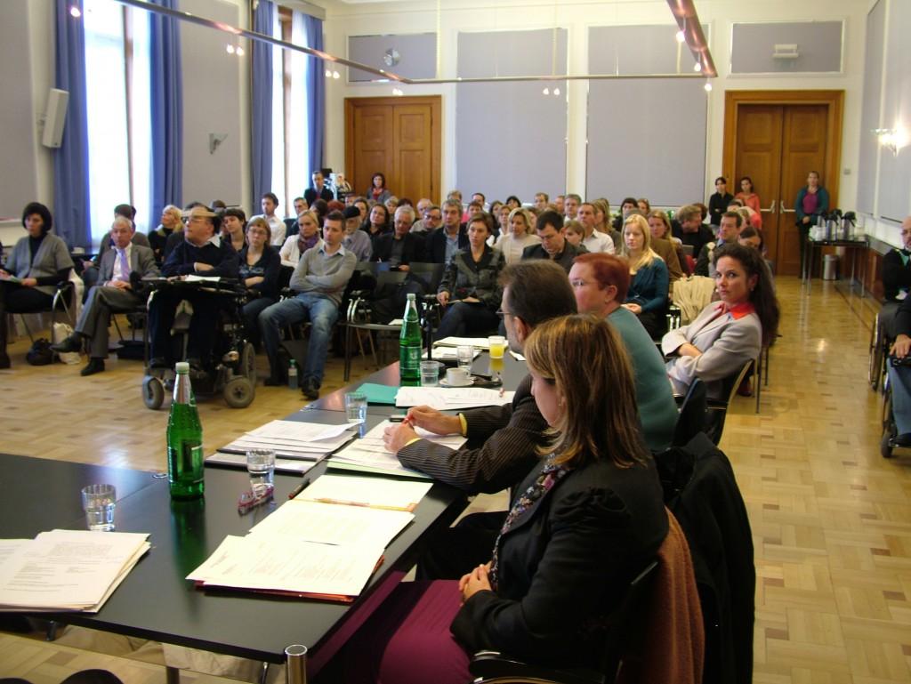 öffentiche Sitzung Monitoringausschuss 091027