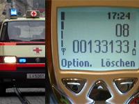 SMS- und Fax-Notrufnummer