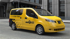 New York Taxi ab 2014, Nissan NV200