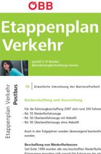 ÖBB Etappenplan für Postbus
