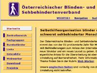 Homepage von ÖBSV